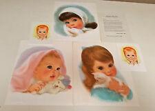 """""""American Beauties"""" copies by Frances Hook - 1959 - set of 6"""