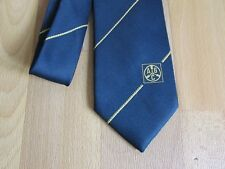 Unidentified Initials A B C Tie by Laurent