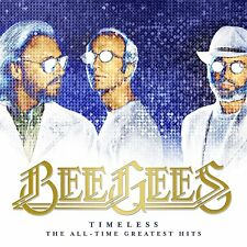 "the bee gees  Greatest hits ""Timeless.""SEALED SENT 1ST CLASS"