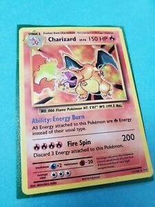 Charizard 11/108 Holo Rare, XY Evolutions, Pokemon Card, LP