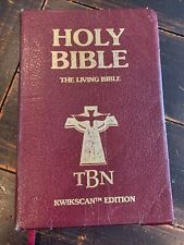 HOLY BIBLE (TBN) Kwikscan Edition Leather Bound - The Living Bible