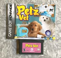 Petz Vet w/ Manual Nintendo Gameboy Advance Cleaned & TESTED GBA Fast Ship!