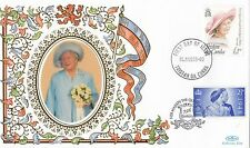 (94828) Tristan da Cunha FDC Queen Mother 95th Birthday 4 August 1995