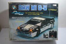 Super RARE vintage 1980's K.K. MATSUSHIRO RC BMW M1 G-5 1/11