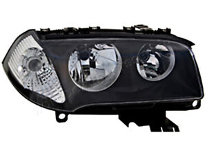 White Headlight Front Lamp Left Fits BMW X3 E83 2004-2006