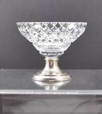 """Vintage Hawkes Compote Bowl Silver Tone Base 28 PWTS 4 1/2"""" Y6"""