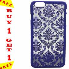 Élégant Henna Design 3D Fleur Pourpre pour iPhone 6 S plus Case-Achetez 1 obtene...