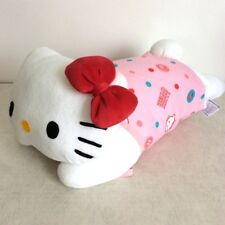 New Hello Kitty Body Pillow Hugging Doll Cushion 42x22cm Sanrio From JAPAN
