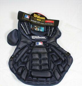 "Wilson Pro Stock Hinge FX Baseball Chest Protector Royal Size M 16"" WTA3300"