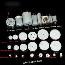 8 kinds Motor and 20 Kinds Plastic Gear Bag DIY for Car Boat Airplane Toy Model