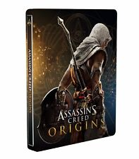 AWESOME ASSASSIN'S CREED ORIGINS STEELBOOK G2 size - sealed
