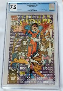 The New Mutants #100 (Apr 1991, Marvel) CGC 7.5. Last Issue. 1st app X-Force!