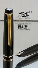 Mont Blanc Fountain Pen No 32 Piston Filler 585 Nib Functional Good con #N6