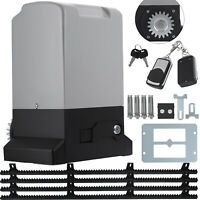 New Sliding Electric Gate Opener 1500KG Automatic Motor Remote Kit Heavy Duty