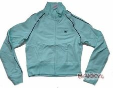 Womens AEROPOSTALE Blue Butterfly Track Jacket size S NWT #3750