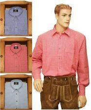 Freizeithemd Wanderhemd Trachtenhemd Hemd kleinkariert OS-TRACHTEN