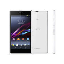 5'' Unlocked Sony Ericsson Xperia Z1 C6903 16GB 20.7MP 4G Smart Phone - White