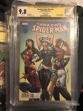 Amazing Spider-Man #18 CGC SS 9.8 Signed Campbell Decomixado La Mole Variant Gen