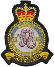 Numéro 26 Escadron régiment de RAF Royal Air Force mod écusson patch brodé