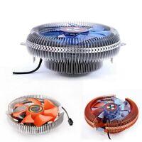 1X(PC CPU Cooler Cooling Fan Heatsink for Intel LGA775 1155 AMD AM2 AM3 754 F5G7