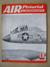 AIR PICTORIAL MAGAZINE JUNE 1954 CHANCE-VOUGHT F7U-3 CUTLASS NAVAL JET FIGHTER