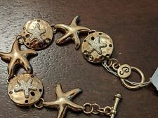 Periwinkle Star Fish Bracelet