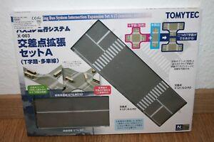 Tomytec X-003 (975828) Bus-System,Erweiterung für Kreuzungsset/NEU/OVP