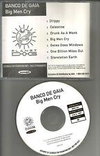Banco De Gaia Big Men Mammoth Recs ADVNCE DIFFERENT ART PROMO DJ CD 1997 USA