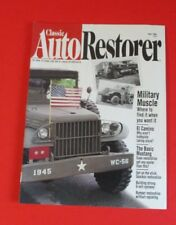CLASSIC AUTO RESTORER MAGAZINE MAY/1996...MILITARY MUSCLE: WHERE TO FIND IT
