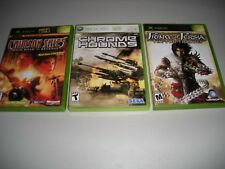 Crimson Skies, Chrome Hounds, Prince of Persia the Two Thrones (XBOX, XBOX 360)
