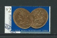 AUSTRALIA 1999 PERTH MINT CENTENARY FINE USED