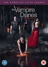 The Vampire Diaries CW Series - The Complete Season 5 All 22 Episodes 5 Disc DVD