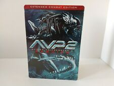 Alien vs Predator 2 Requiem Extended Combat Edition Rare DVD Steelbook Edition