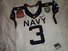 Robinson 2012 Navy vs Army Naval Academy Midshipmen Nike Authentic Game Jersey