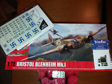 AIRFIX A04016_INSCALE AC019_YAHU YMA7218- Bristol BLENHEIM Mk.I FINNISH - 1/72