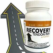 Recovery Tendon Handles Pain w/ Turmeric & Advanced Protease Enzyme Blend 120ct