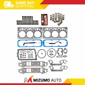 Head Gasket Set Bolts Lifters Fit 98-03 Dodge B1500 Dakota Durango Ram 1500 3.9