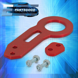 For Audi A3 A4 A5 TT RS5 R8 S4 S5 Sturdy Aluminum Racing Tow Hook Anodized Red