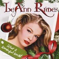 LEANN RIMES What A Wonderful World CD BRAND NEW Christmas Album