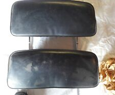 1966 67. GM bucket seat headrest black very good condition with Hardware