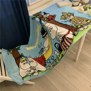 Japan Moomin Valley Family Towel Beach Towel Cotton 70*140