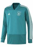 adidas DFB Trainingstop Pullover Herren Deutschland, grün/weiß, CE6620, Gr. L,