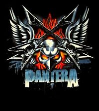 PANTERA cd lgo DEAN GUITAR WITH WINGS Official SHIRT MED New dimebag darrell