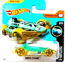 HOT WHEELS ARROW DYNAMIC X-RAYCERS TRACK STARS Mattel [1P]
