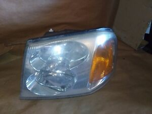 02-09 GMC ENVOY XL LH DRIVER SIDE HEAD LIGHT 02 03 04 05 06 07 08 09