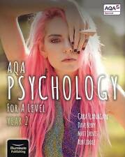 AQA Psychology for A Level Year 2 - Student Book by Cara Flanagan, Matt Jarvis,
