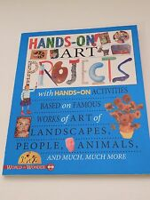 Hands-On! : Art Projects Book (Flowerpot Press, 2014) - Never Used