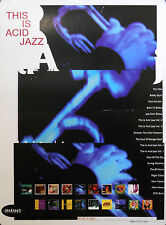 THIS IS ACID JAZZ POSTER (B12)