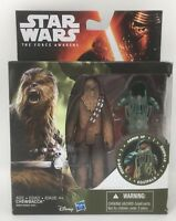 "Star Wars The Force Awakens 3.75"" Vinyl Figure Forest Mission Armor Chewbacca"