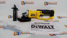 "New Dewalt DCG412 20V Max Li-Ion Cordless 4 1/2"" / 5"" Angle Grinder - Bare Tool"